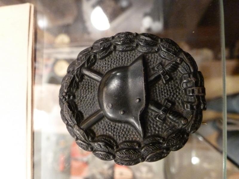 Badge des blesses WW1  P1110217