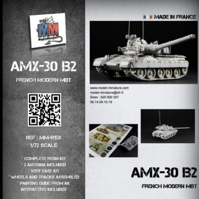 AMX 30B 105mm montage terminé 446-1510