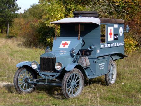 La noria des ambulances  pour St ROCH, [icm] Ford t 1/35 Ambula11