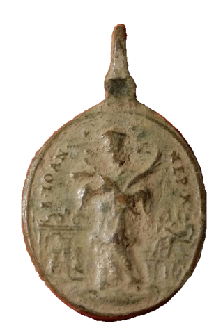 Santa Maria de Sastin (Sedembolestná Panna Mária)/ San Juan Nepomuceno, S. XVIII(MAM) 221010