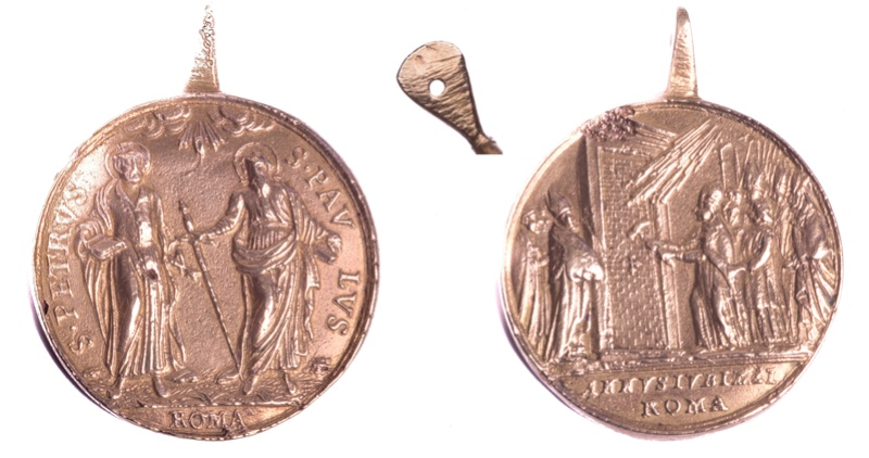 Apertura Puerta Santa / SS Pedro y Pablo, S.XVIII (R.M.SXVIII-C29) Medail10