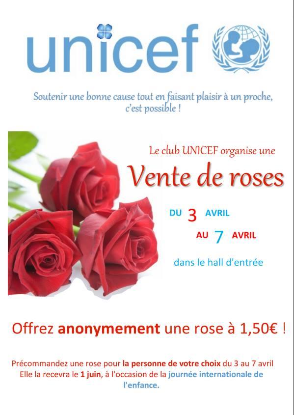 Vente de roses #UNICEF 29542210