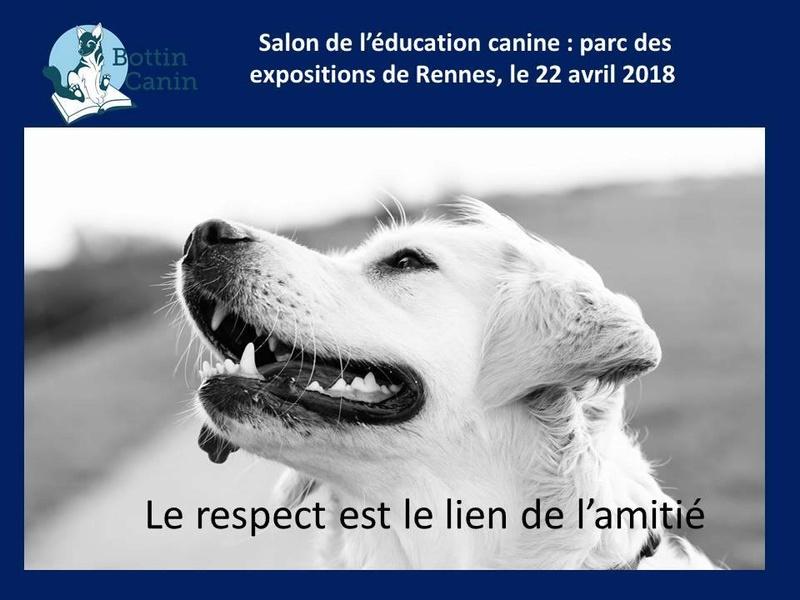 Salon de l'éducation canine et du bien-être animal - Rennes (35) - 22 avril 2018  22780110