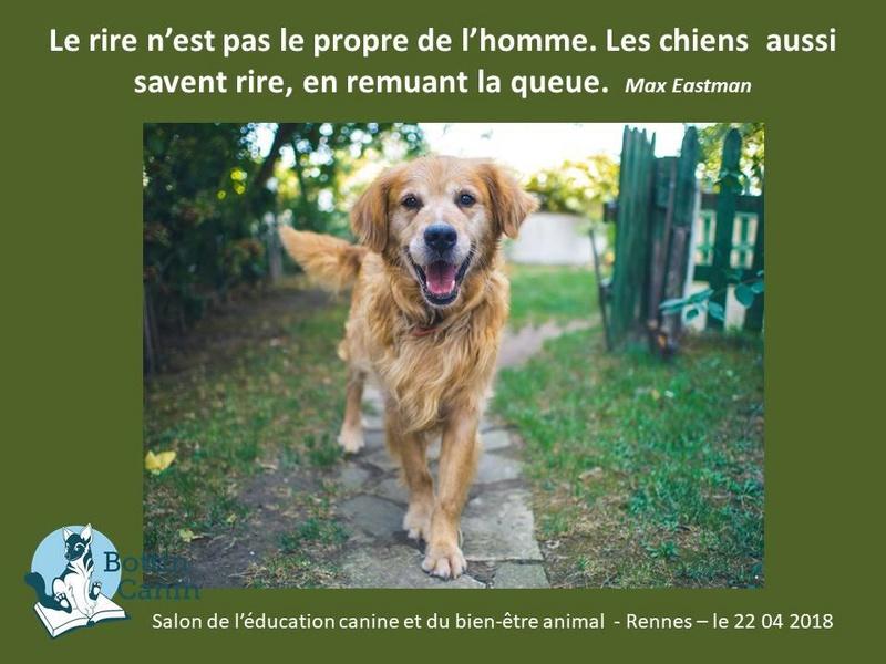 Salon de l'éducation canine et du bien-être animal - Rennes (35) - 22 avril 2018  23131610