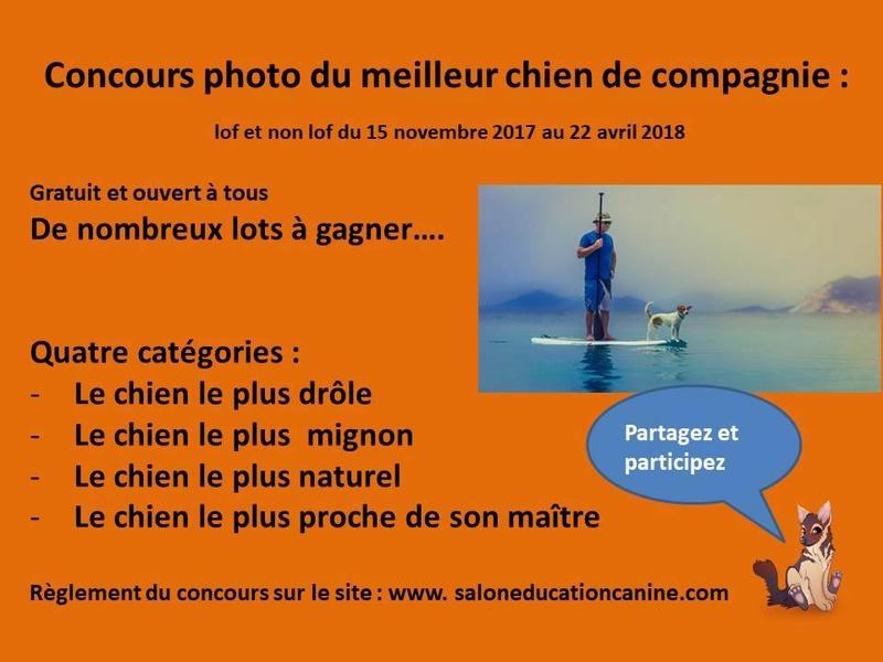 Salon de l'éducation canine et du bien-être animal - Rennes (35) - 22 avril 2018  23231310