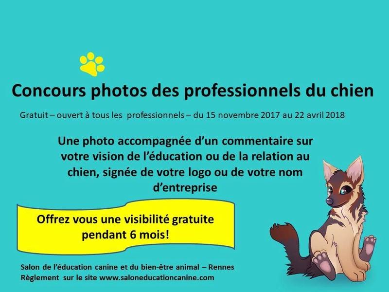 Salon de l'éducation canine et du bien-être animal - Rennes (35) - 22 avril 2018  23471910