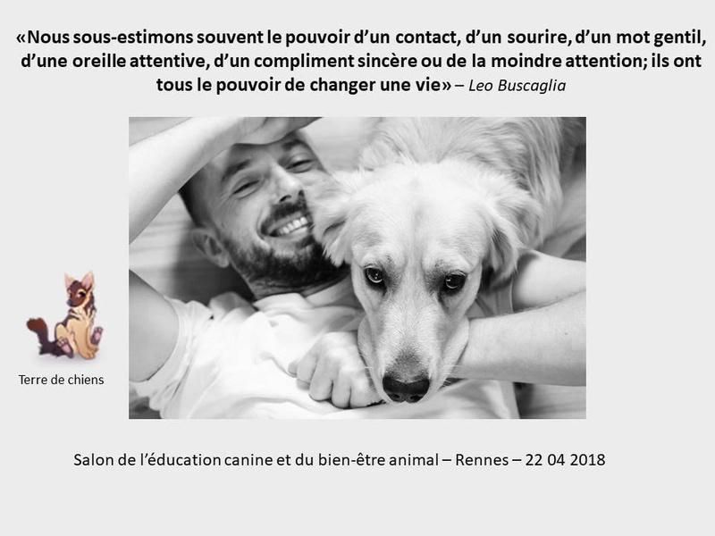 Salon de l'éducation canine et du bien-être animal - Rennes (35) - 22 avril 2018  23755610