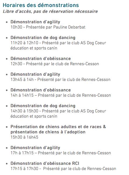 Salon de l'éducation canine et du bien-être animal - Rennes (35) - 22 avril 2018  - Page 2 Captur16