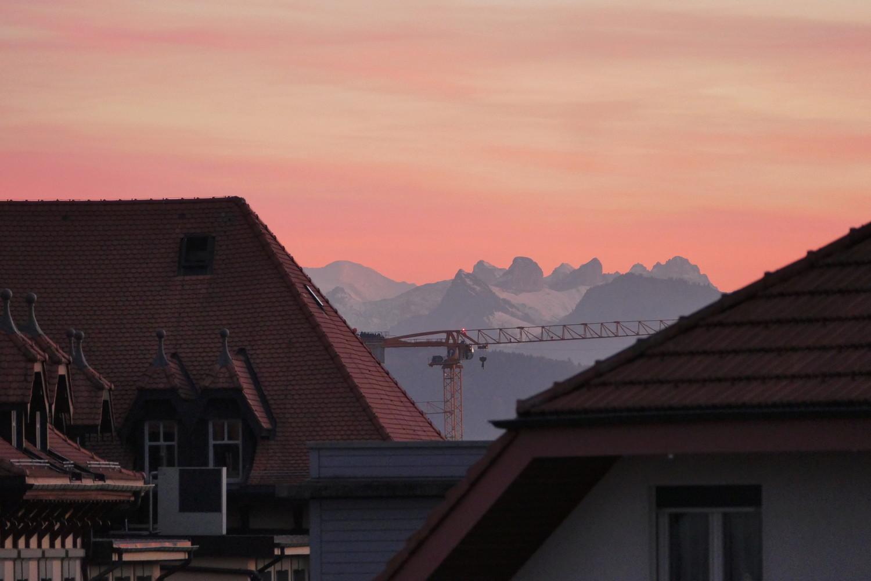 Mont Blanc depuis le Grand Nord P110