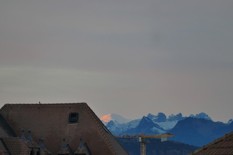 Mont Blanc depuis le Grand Nord P210