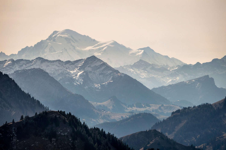 Mont Blanc depuis le Grand Nord P310