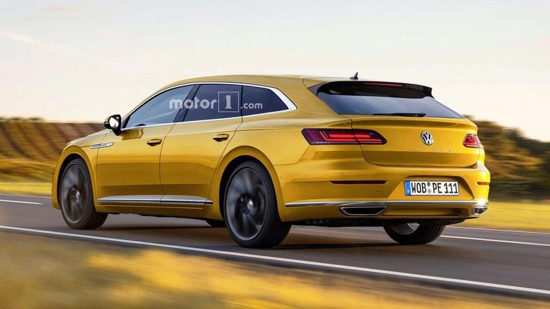 2019 - [Volkswagen] Arteon Shooting Brake 0954cc10