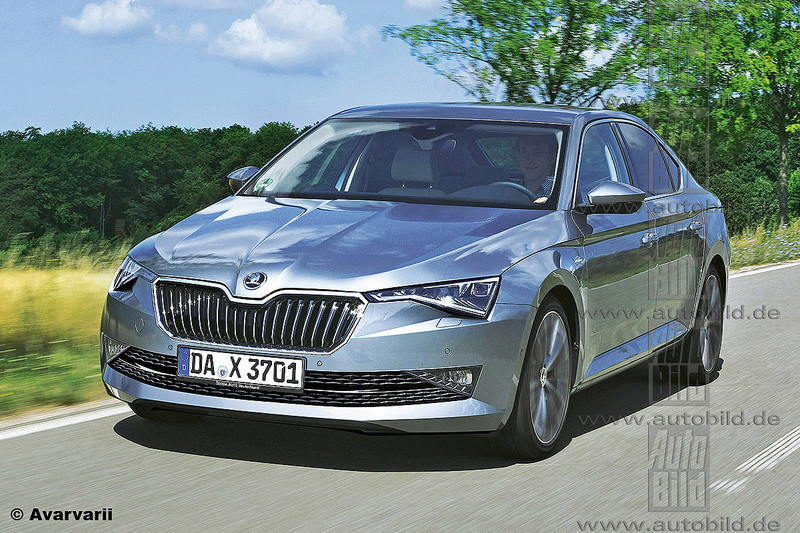 2018 - [Skoda] Superb restylée  099db410