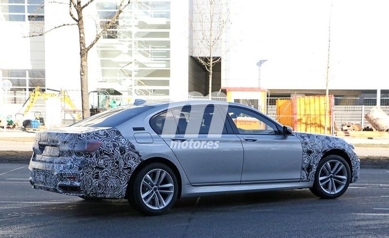 2019 - [BMW] Série 7 restylée  0a654410
