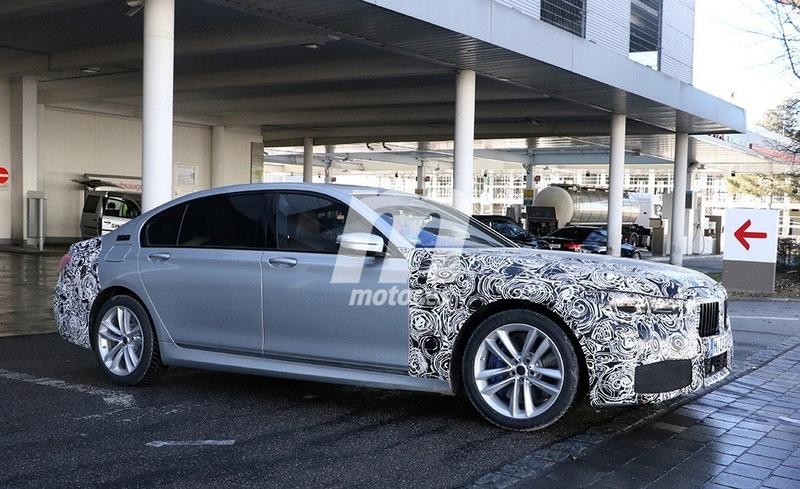 2019 - [BMW] Série 7 restylée  16ccdb10