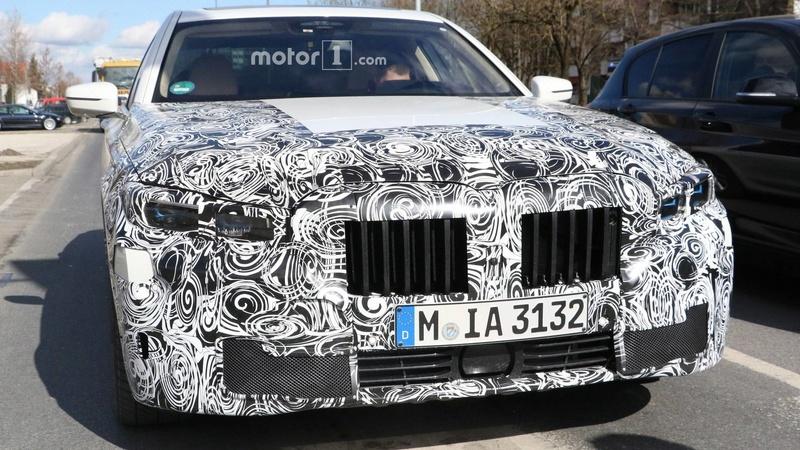 2019 - [BMW] Série 7 restylée  3b6d9f10