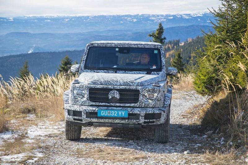 2017 - [Mercedes-Benz] Classe G II - Page 6 4179f410