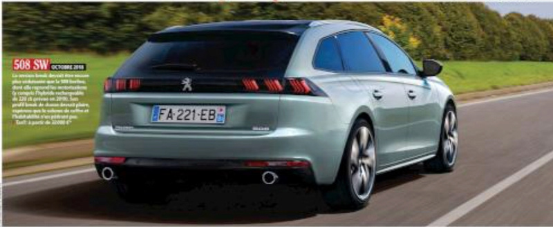 2018 - [Peugeot] 508 II SW - Page 6 439a1310