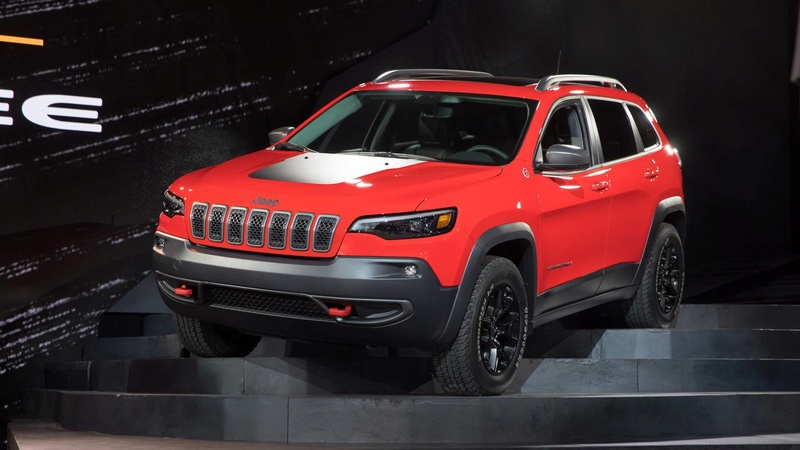 2016 - [Jeep] Cherokee restylé - Page 2 45510b10
