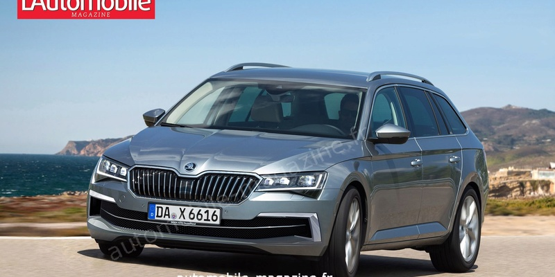 2018 - [Skoda] Superb restylée  519db810
