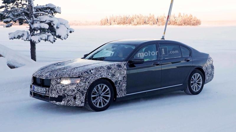 2019 - [BMW] Série 7 restylée  595ff310