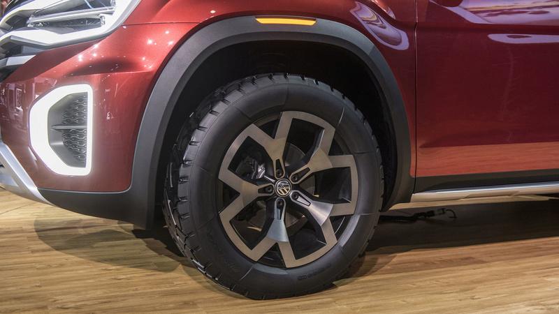 2018 - [Volkswagen] Atlas Tanoak concept 67c16210