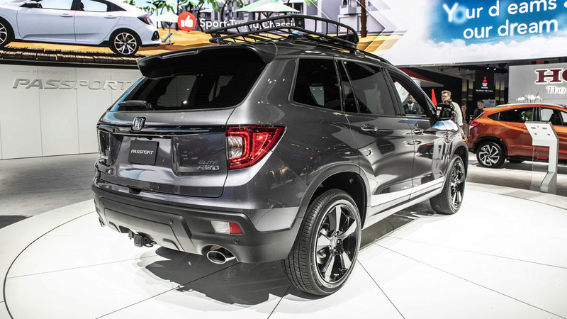 2019 - [Honda] Passport 809b8b10