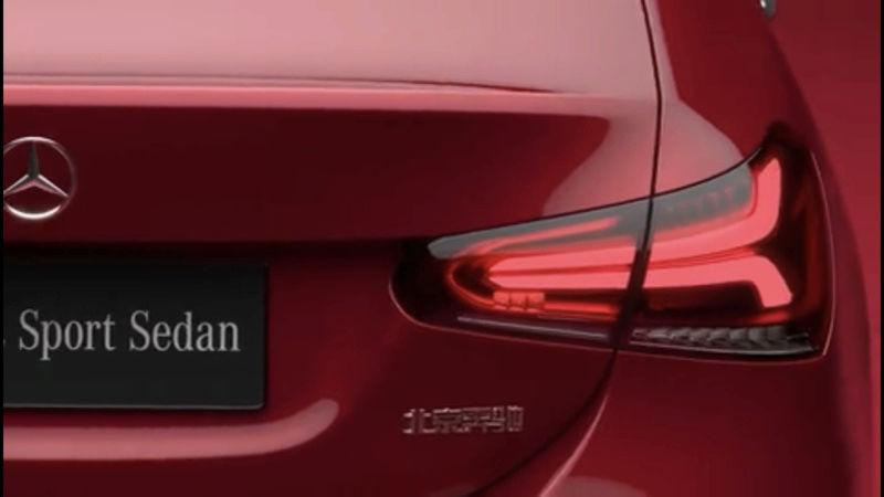 2018 - [Mercedes-Benz] Classe A Sedan - Page 3 83edf510