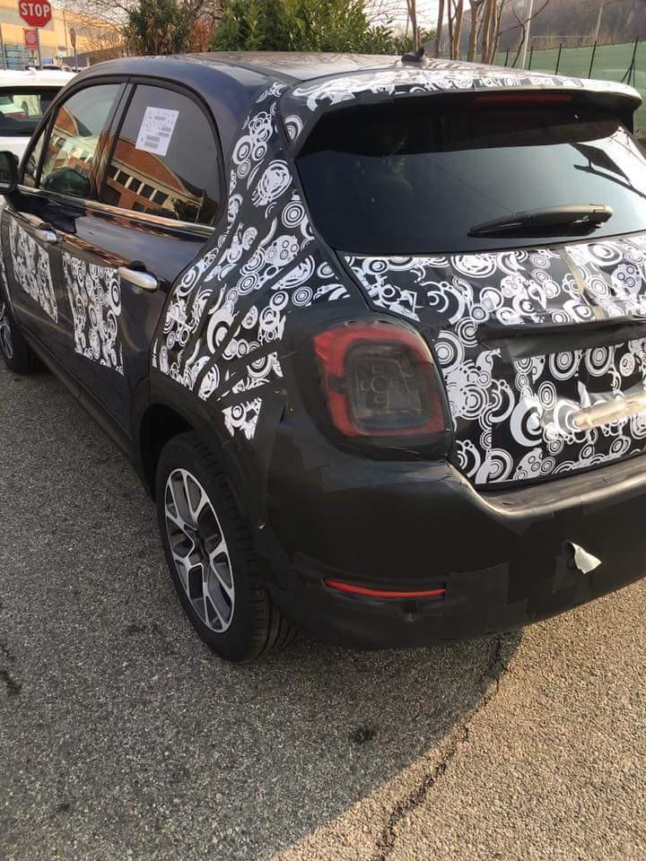 2018 - [Fiat] 500X restylé 8402e110