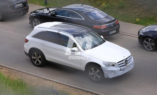 2018 - [Mercedes-Benz] GLC/GLC Coupé restylés 85ea1e10