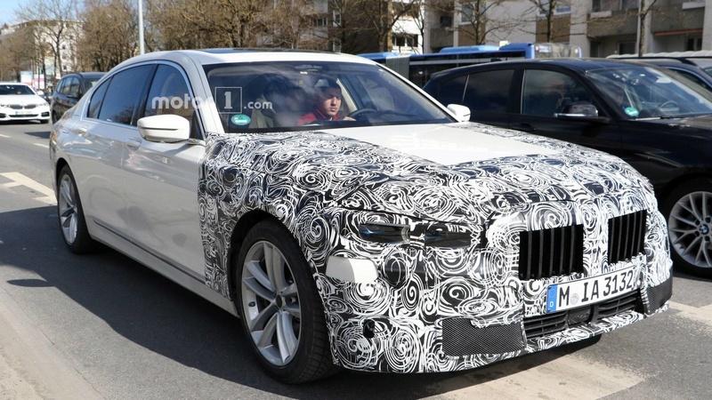 2019 - [BMW] Série 7 restylée  8931c010