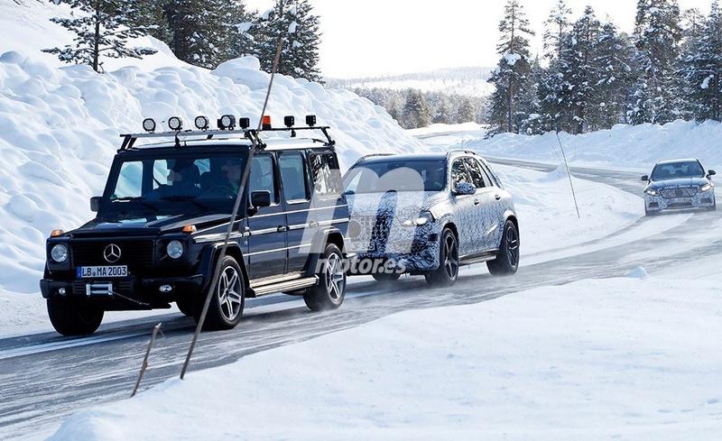 2018 - [Mercedes] GLE II ( ML IV ) - Page 3 8bd29910