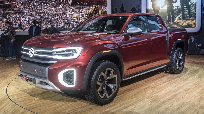 2018 - [Volkswagen] Atlas Tanoak concept 8bd4ba10