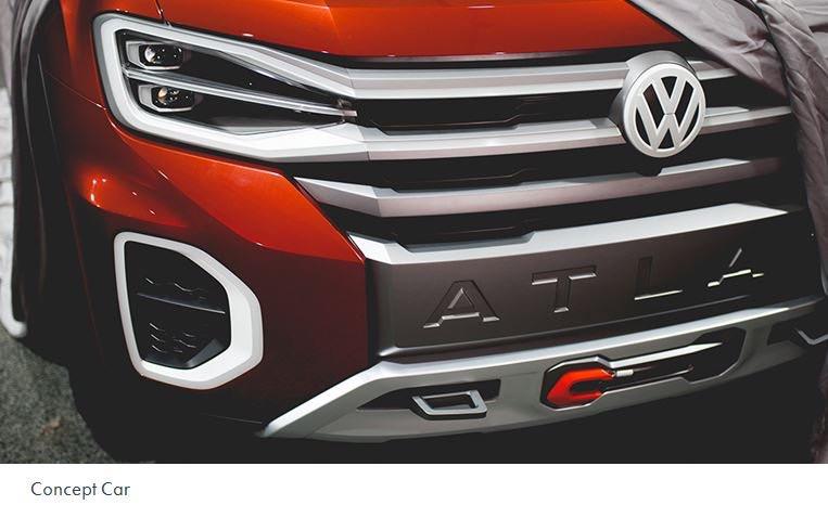 2018 - [Volkswagen] Atlas Tanoak concept 8e3cd710