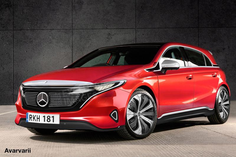 2020 - [Mercedes-Benz] EQ A 99651510