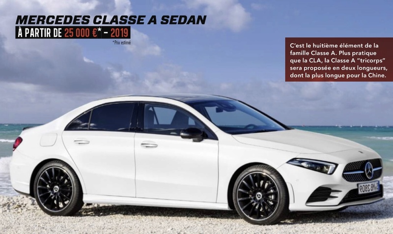 2018 - [Mercedes-Benz] Classe A Sedan - Page 2 9c3d2610