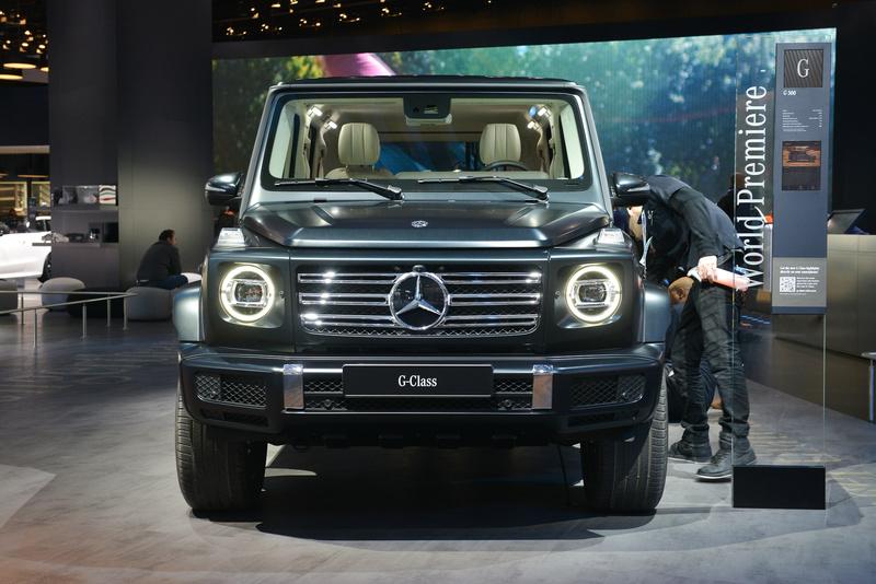 2017 - [Mercedes-Benz] Classe G II - Page 8 F17f1510