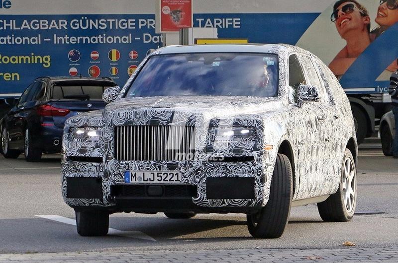 2017 - [Rolls-Royce] SUV Cullinan - Page 9 F8cfd010