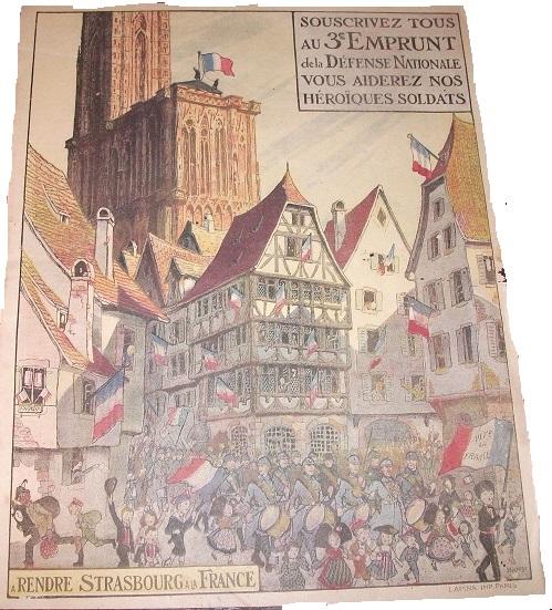 """""""A la nation française"""" - affiche - R. Poincaré - 1914 114"""