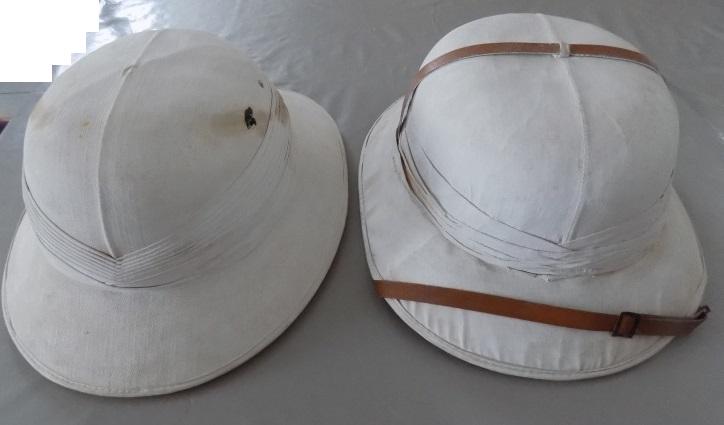 casque colonial français  118