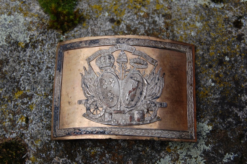 Plaque de plateau de ceinturon 1792 ?... - Page 2 Plaque10