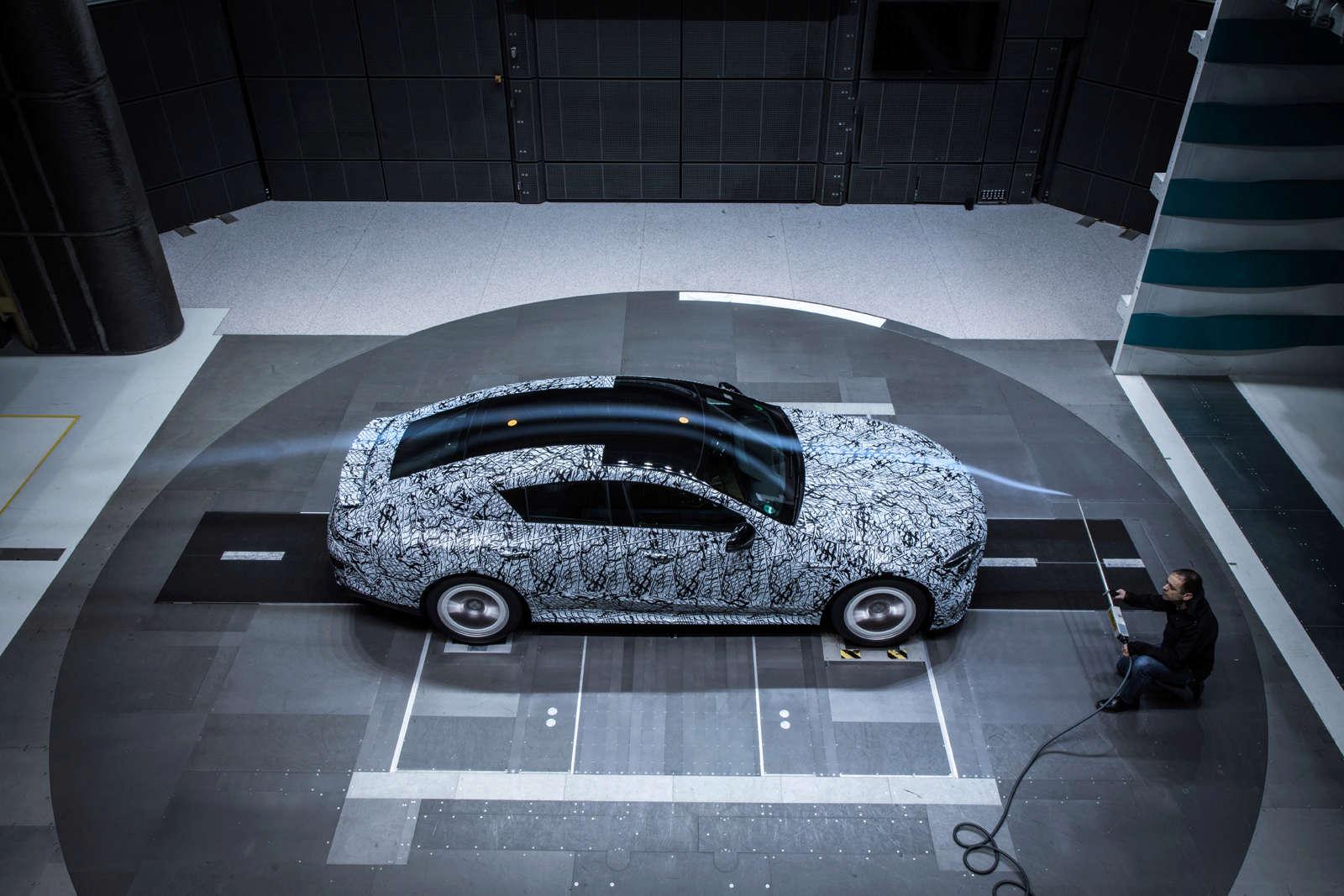 (X290): Fotos da Mercedes-AMG GT4 em testes no túnel de vento 2e23a910