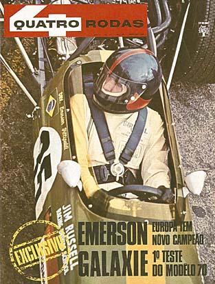 Matéria C111 Revista 4 Rodas com avaliação de Stirling Moss - NOV/1969 4580d110
