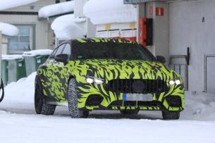 (X290): Novas fotos da Mercedes-AMG GT4 antes da apresentação oficial em Genebra/Suíça em Março 2018  69e58d10