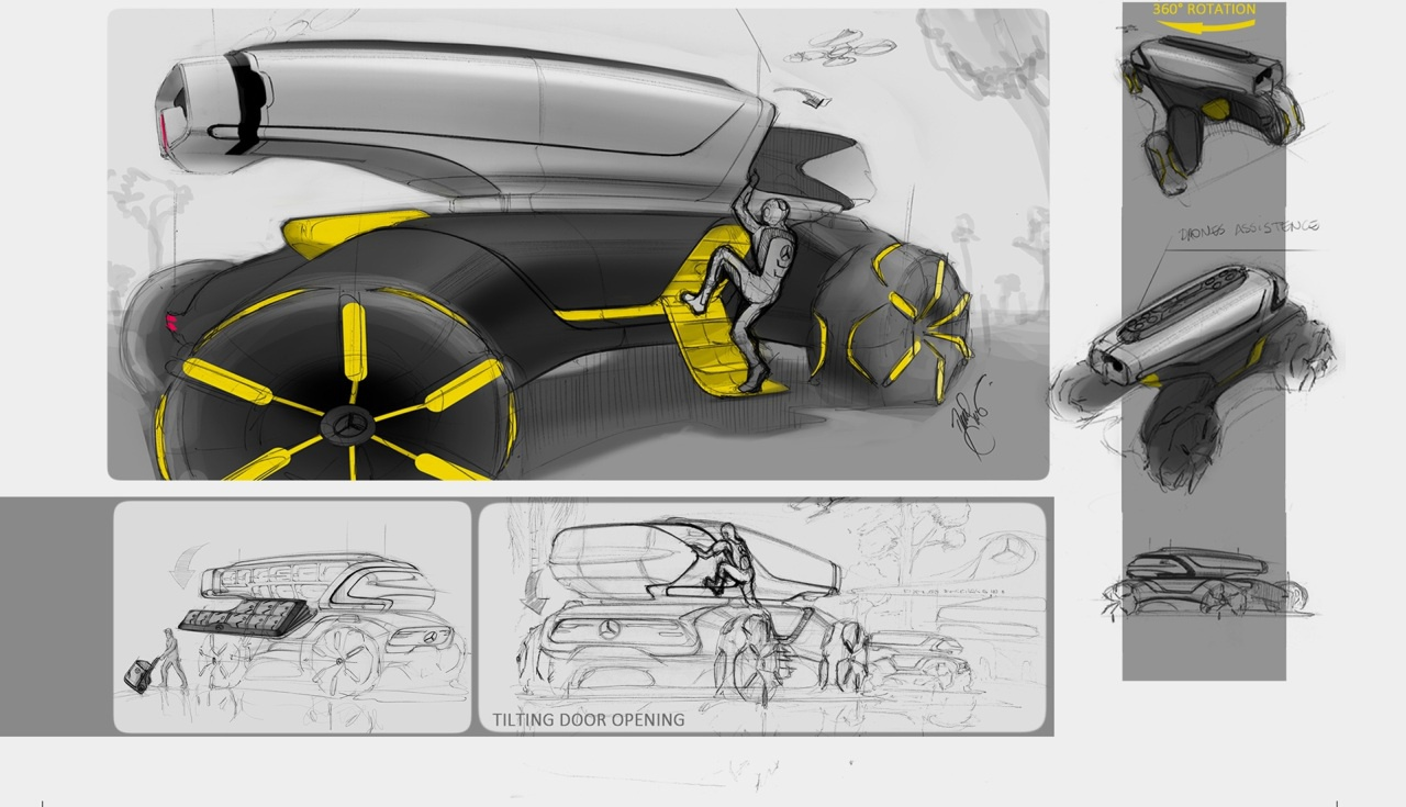 (CONCEITO): Vision Mercedes-Benz Across - projeto da Mercedes-Benz do Brasil 9de90410