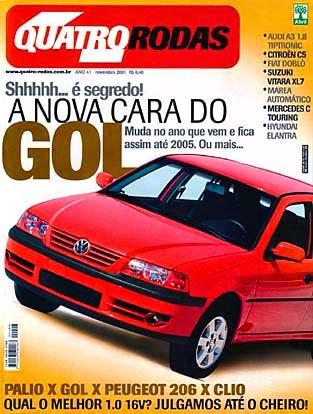 (S203): Avaliação Revista Quatro Rodas - Classe C320 perua - novembro de 2001 B3565710