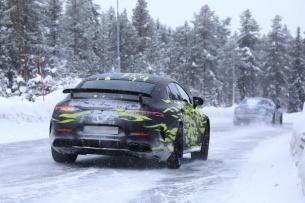 (X290): Novas fotos da Mercedes-AMG GT4 antes da apresentação oficial em Genebra/Suíça em Março 2018  E0468e10