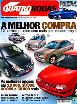 (CL203): Avaliação Revista Quatro Rodas - CLC 230K - setembro de 2001 F72f7010