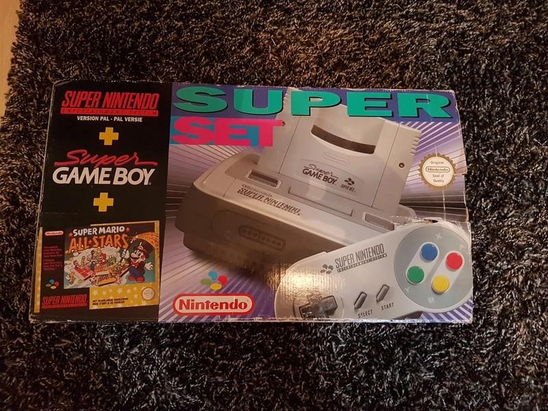 Super Nintendo Pack Mario All Star Super game boy 20180111