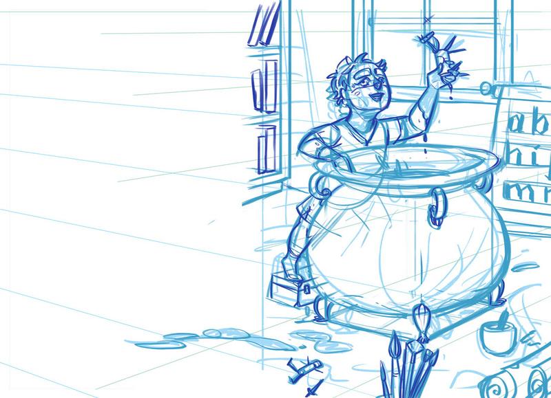Sketchbook : IsaArne [ Challenge de l'ete P7 ] - Page 4 Mep_ba15